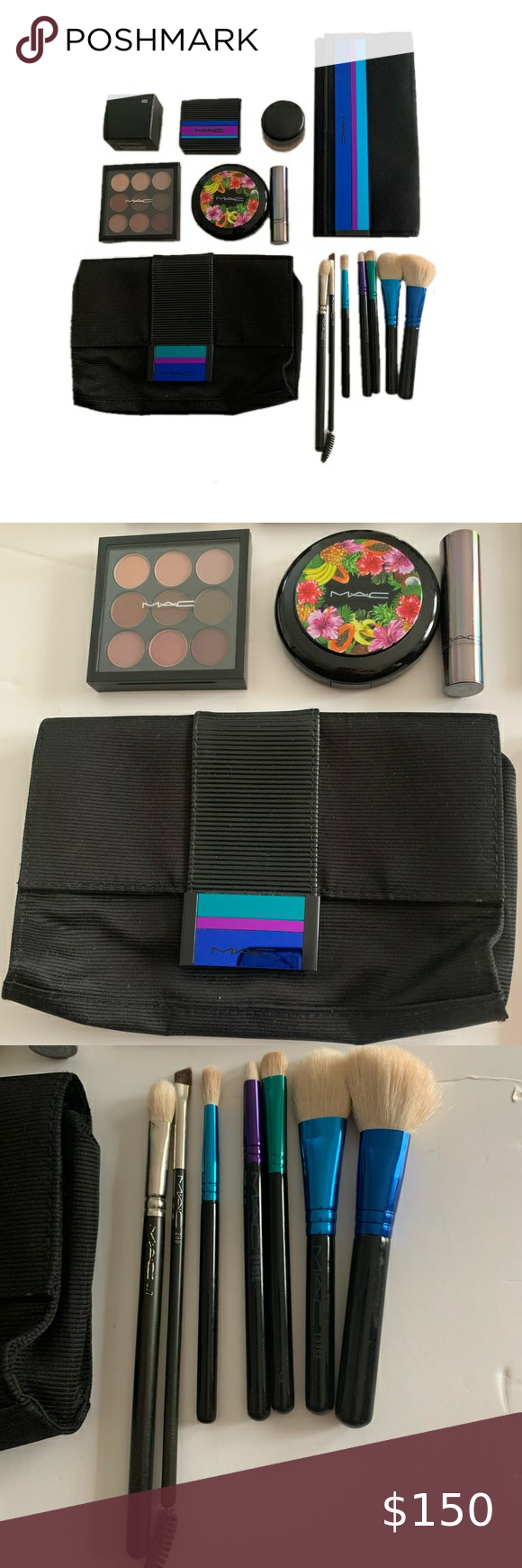 MAC0 on (With images) Makeup artist kit, Makeup brushes