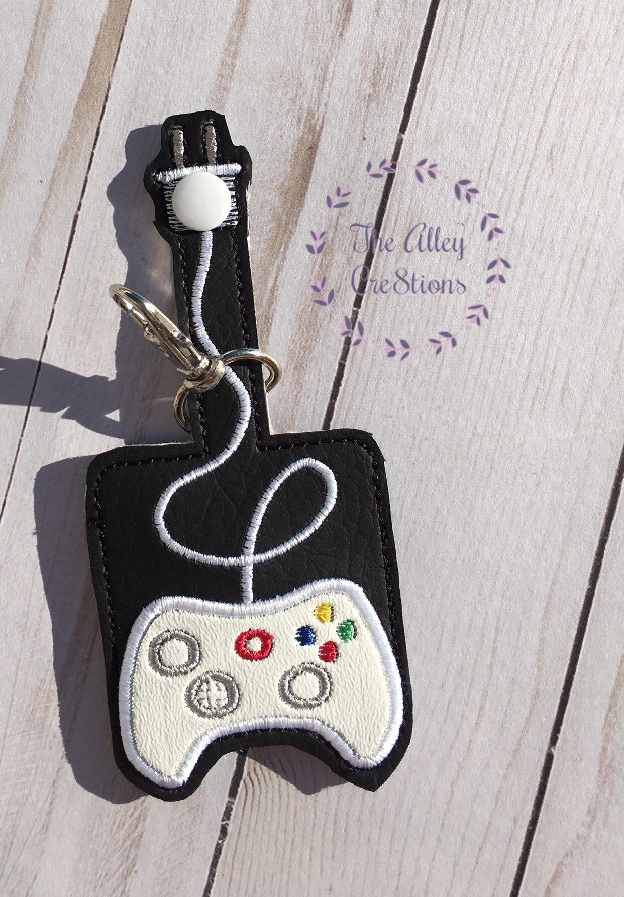 White Xbox Inspired Antibacterial Sanitizer Holder Stocking