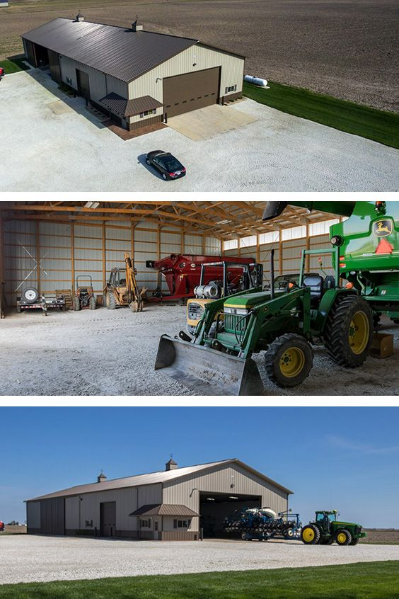 Store Your Machines In A Morton Your Tractors And Trucks And The