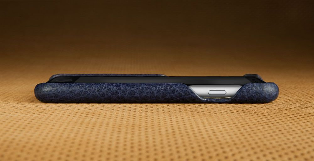 Premium iPhone 6 Leather Case Vaja Cases Grip C Beet Red/Black $90