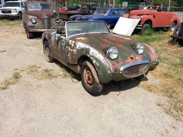 1959 Austin Healey 'Bugeye' Sprite for restoration ...