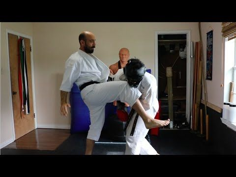 Karate Counters: Jab, Cross, One-Two - YouTube