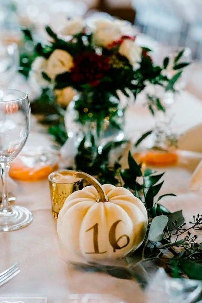 27 Romantic Ideas Of Fall Wedding Centerpieces For Your Big Day - Decorating Ideas