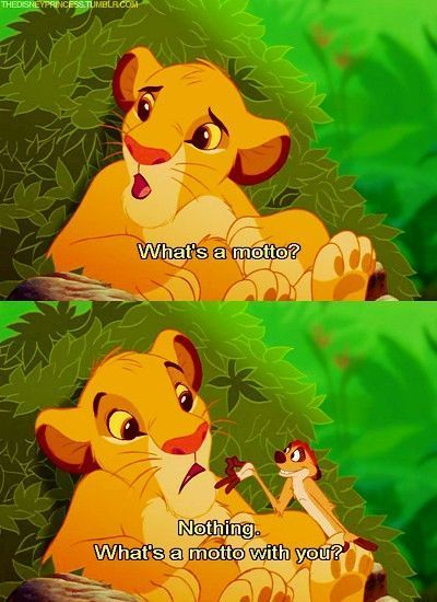 Lion King What S A Motto With You I Always Laugh At This No Matter What Disney Puns Disney Jokes Disney Kids