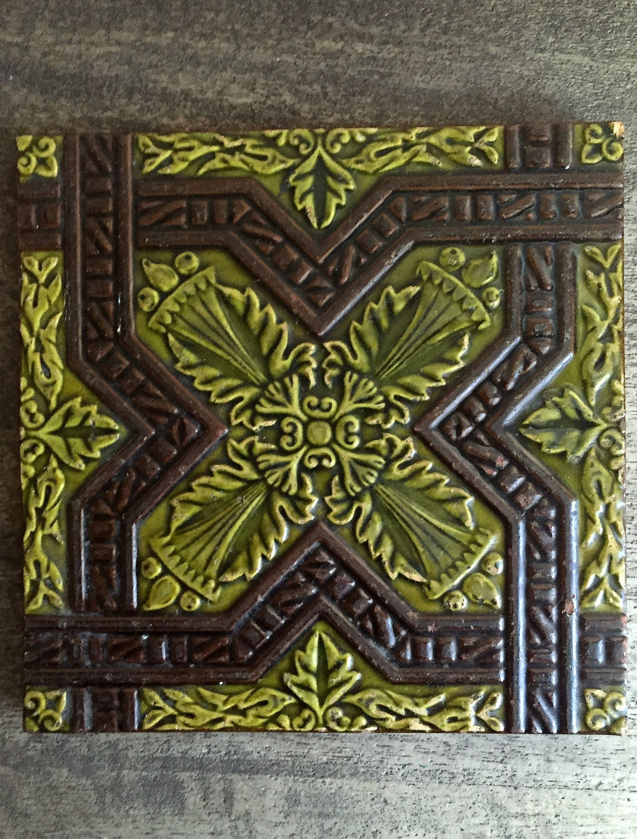 edwardian restoration antique tiles register ward fireplaces tiled fireplace