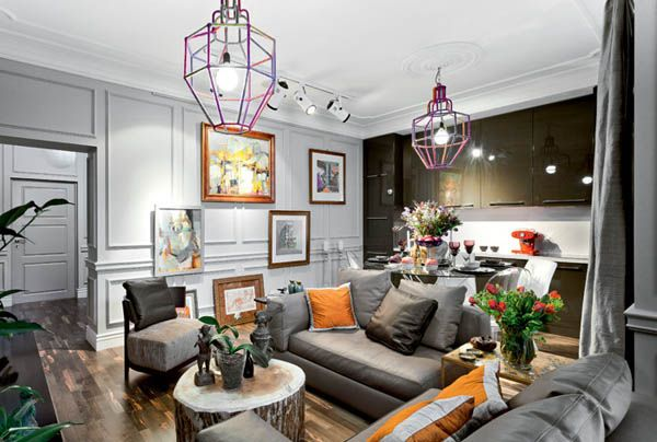 Modern Interior Design In Eclectic Style With Parisian Chic Simple Interior Design Eclectic Interior Design Parisian Interior