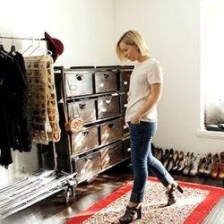 Peek inside the office of Stylist, Jen Pinkston