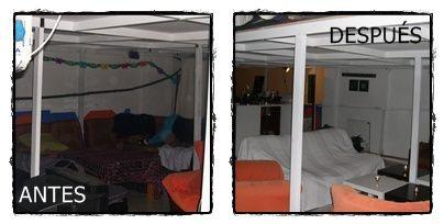 Renovación de un espacio de Tango, dentro de una Nave