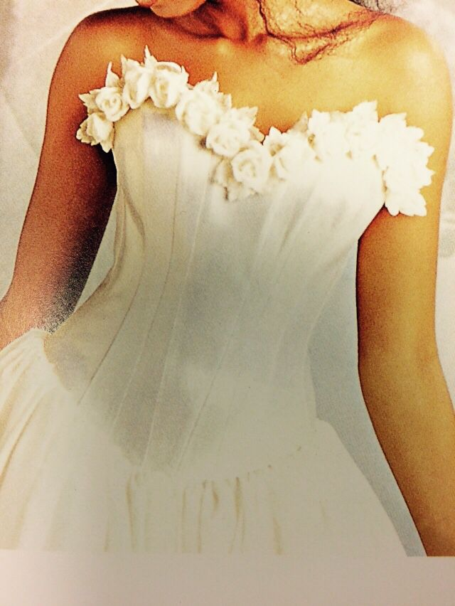 #Brudekjole #Flowers
