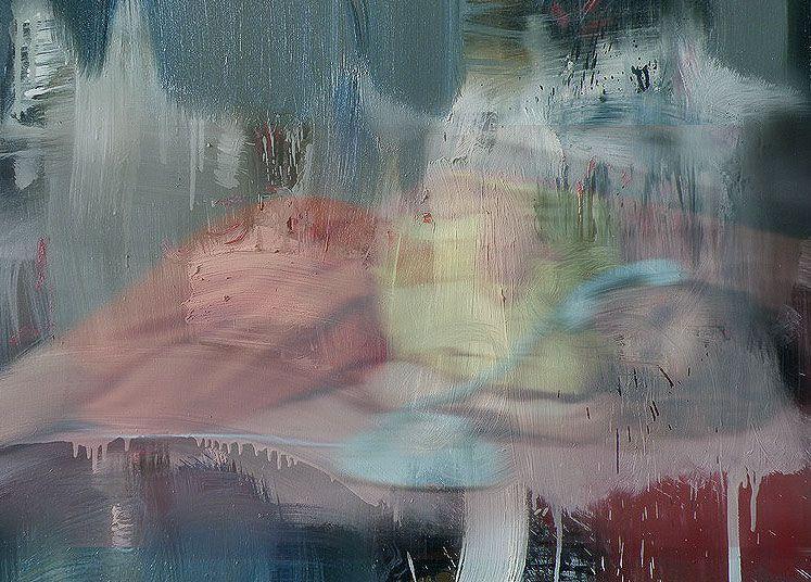 conversation - 2014 - oil on canvas - 95cm x 135cm - andré schmucki