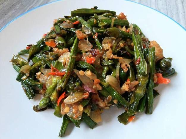 Resep Tumis Genjer Ebi Pedas Oleh Cynthia Liona Resep Makanan Tumis Resep