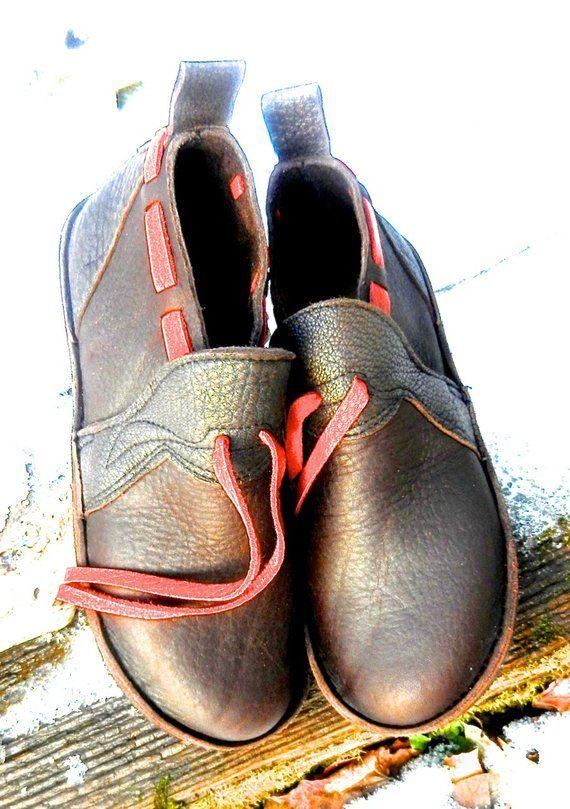 6b971772fd89c Handmade Custom chocolate bullhide Leather Shoes - NO SHOES ...