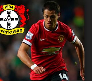 Blog De Palma2mex Chicharito Hernandez Anota Y Gana Bayer Leverkusen Manchester United Javier Hernandez Manchester