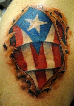 Images of jamacian and puerto rican tattoos flag tattoo for Henna tattoo in puerto rico