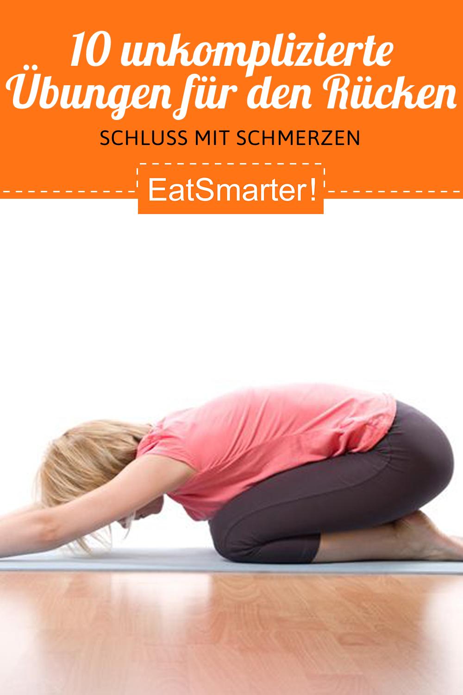 10 unkomplizierte Übungen für den Rücken #cardioyoga 10 unkomplizierte Übungen für den Rücken | eats...