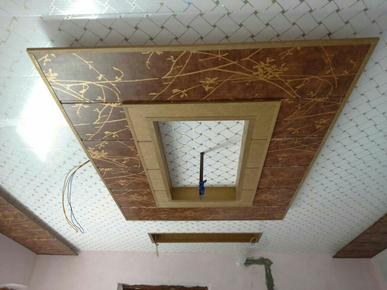 Pin By Mahinder On Mahinder 1112 Pvc Ceiling Design Pvc Wall Panels Designs Pvc Wall Panels