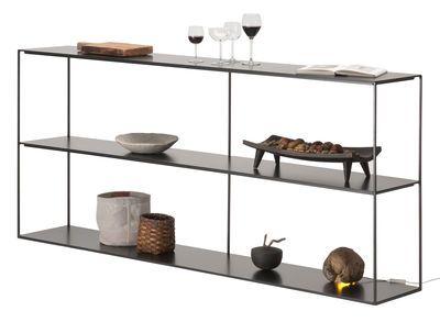 Etagere Slim Irony Zeus Noir Made In Design Placard Design Table A Manger Design Mobilier Design