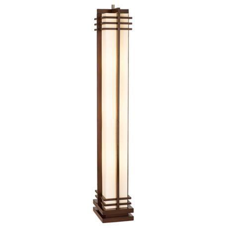 Possini Euro Design Deco Style Column Floor Lamp 48254 Lamps Plus Contemporary Floor