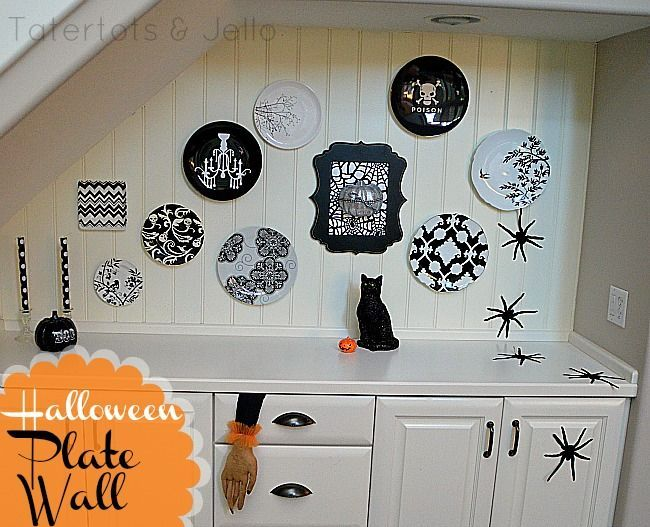 45 Halloween Decor Ideas - TONS of spooky and fun Halloween - fun halloween decorating ideas