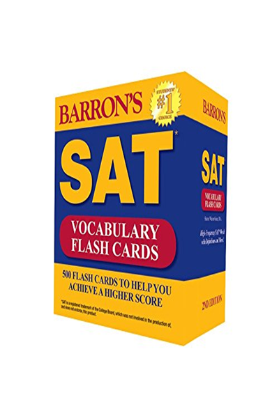 Barron's SAT Vocabulary Flash Cards, 2nd Edition: 500 Flash