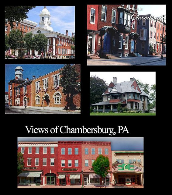 16 Downtown Chambersburg Pa Combo Vacation Places