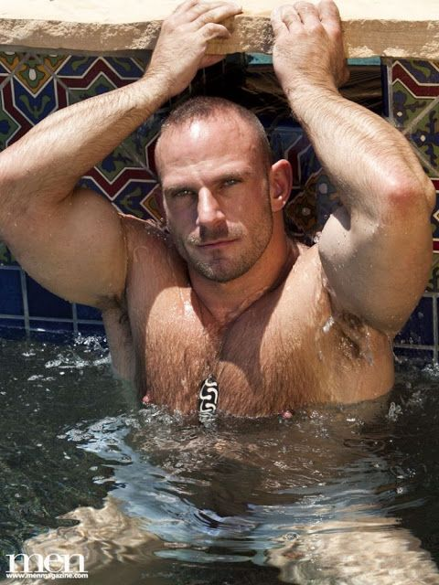 Horny muscular dudes having hardcore pleasure by the pool