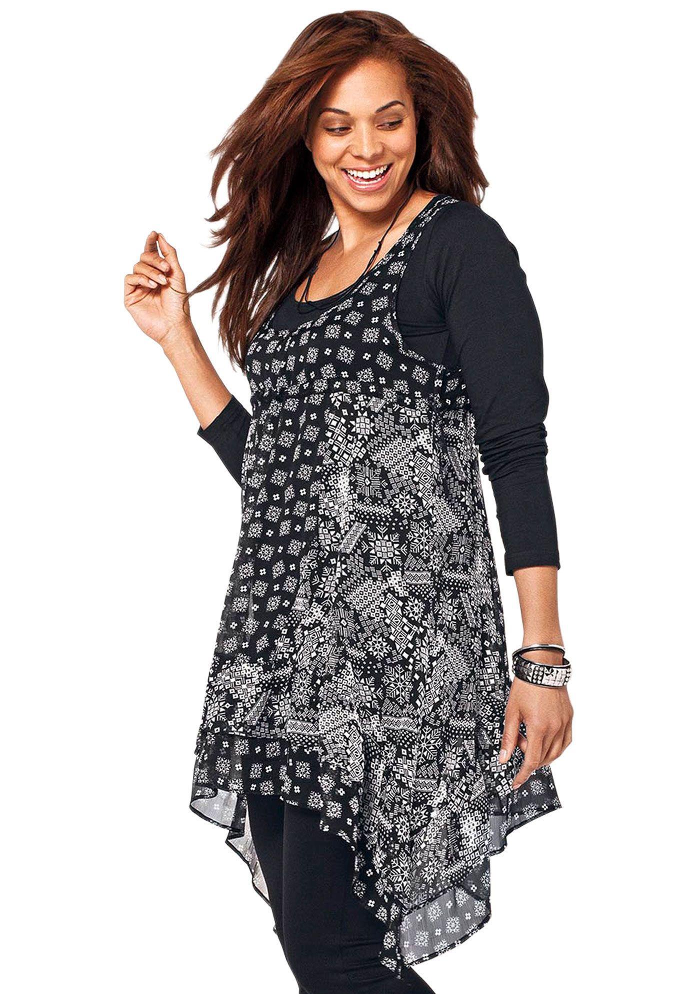6e6be65de1d7 Plus Size Clothing - Fashion for Plus Size women at Roaman s