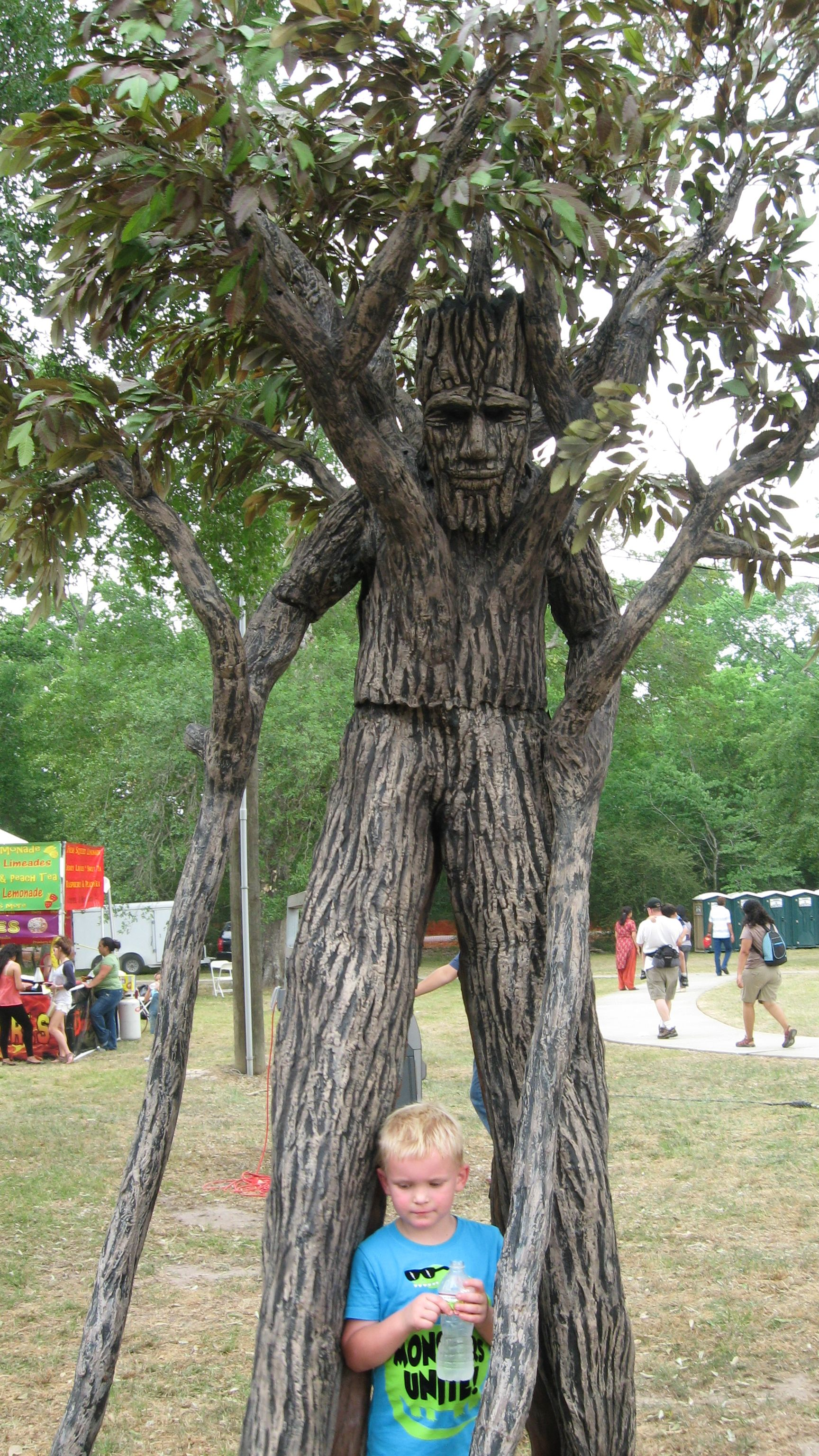 Heck Yeah Awesome Tree Costume Stilt