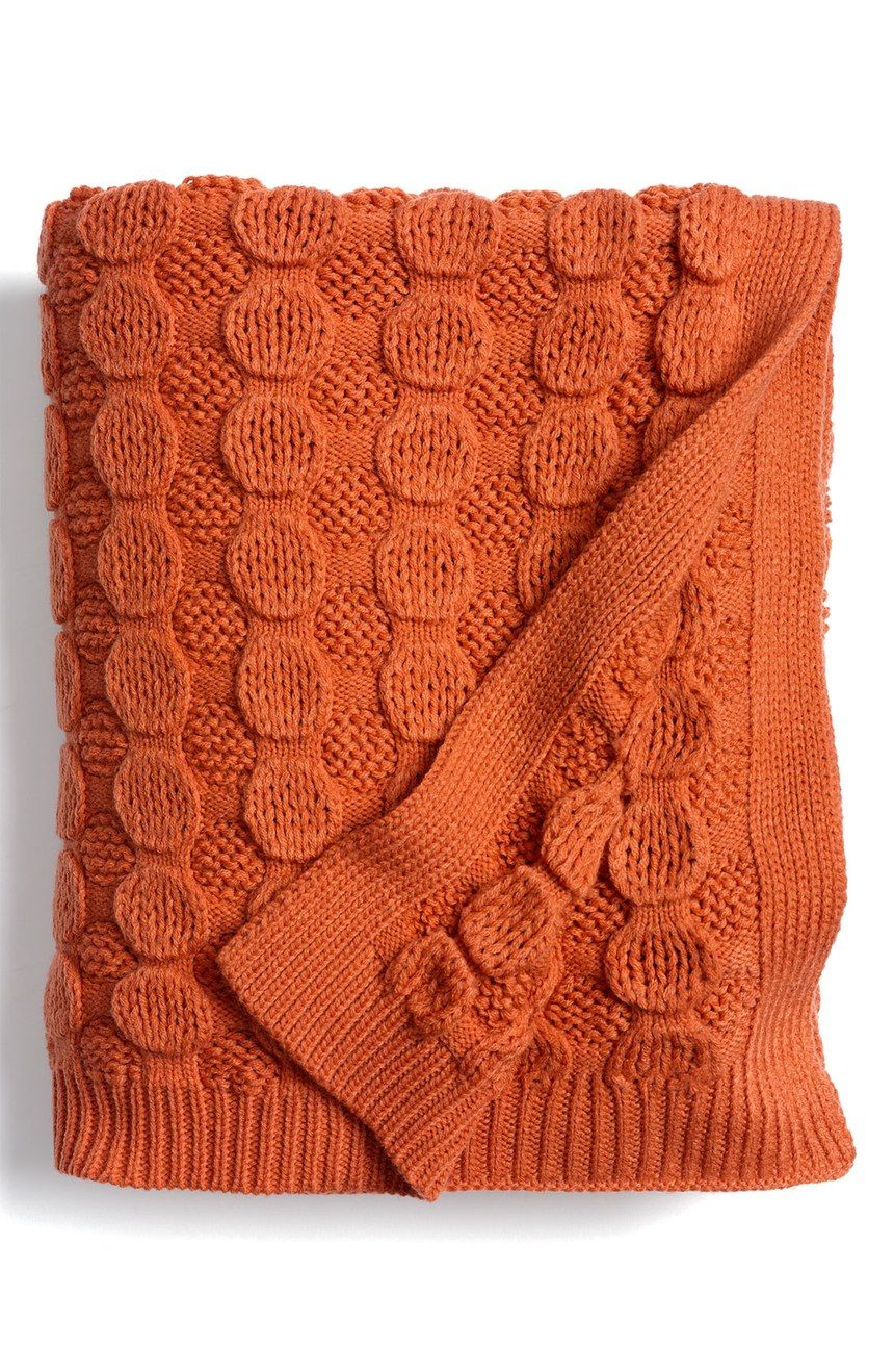 Nordstrom At Home Bubble Wrap Knit Throw Nordstrom Haric