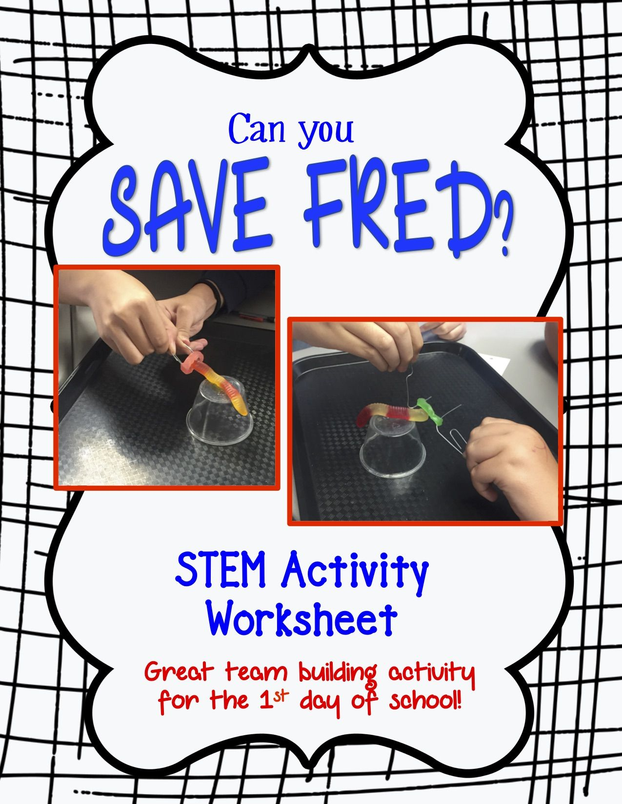 Can You Save Fred 1st Day Team Building Activity