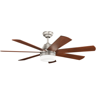 View the kichler 300239 ellys 56 7 blade ceiling fan with blades view the kichler 300239 ellys 56 7 blade ceiling fan with blades led light aloadofball Images
