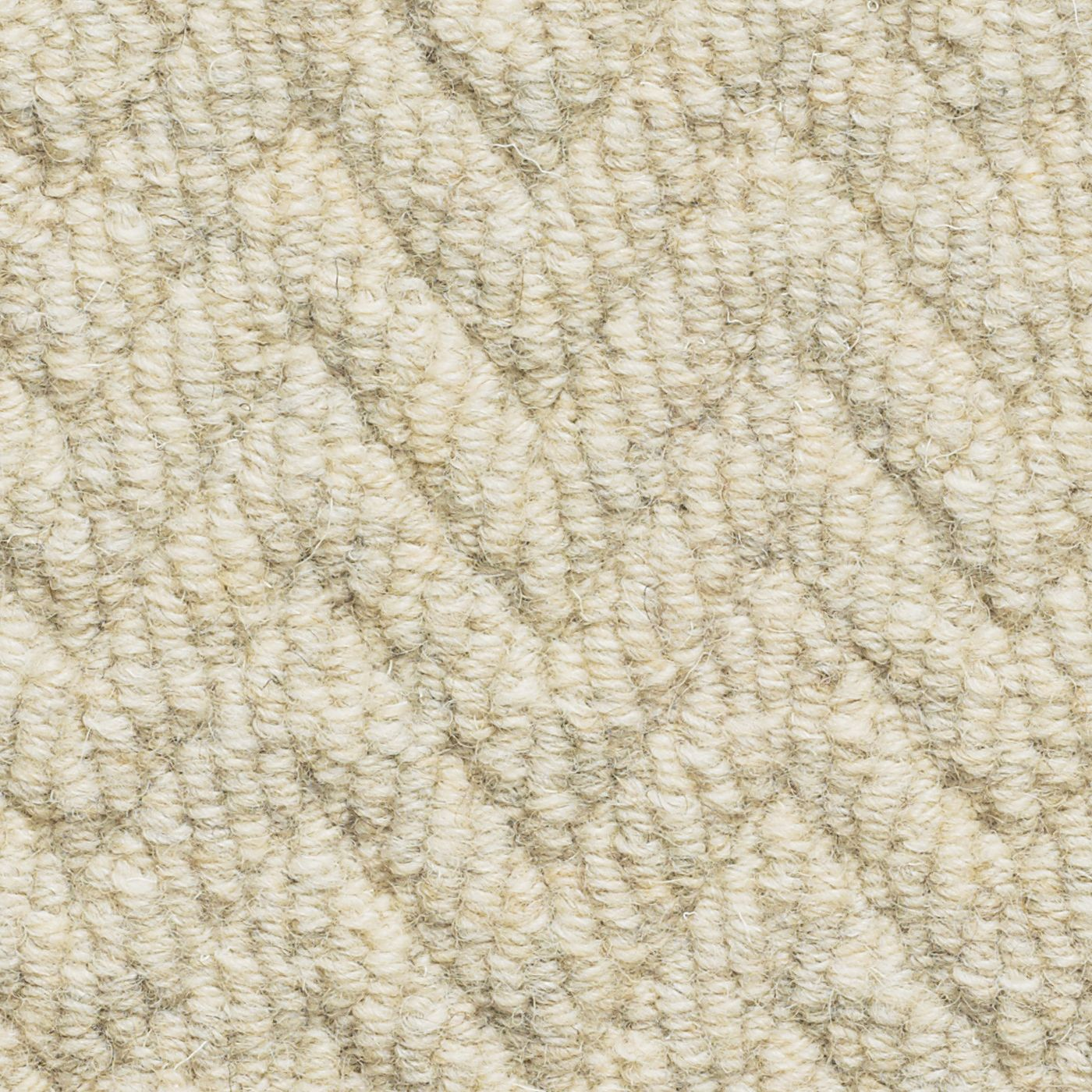 Cosy Textured Wool Rug: Brockway Carpets Natural Tweed