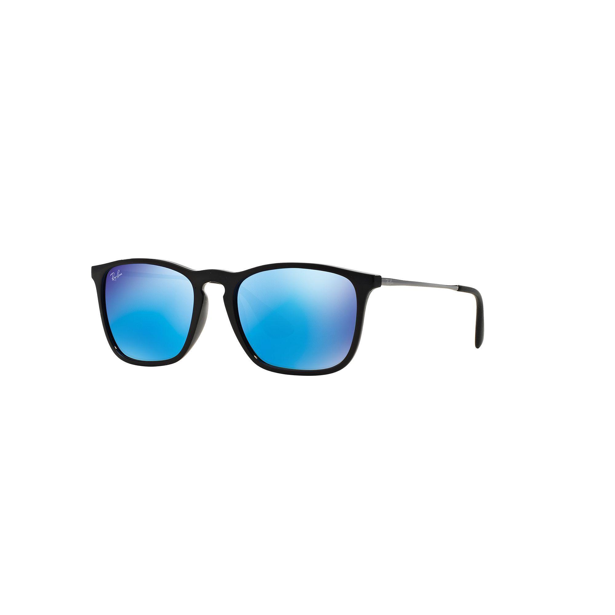 5ed9ddaea12 Ray-Ban Chris RB4187 54mm Square Mirror Sunglasses