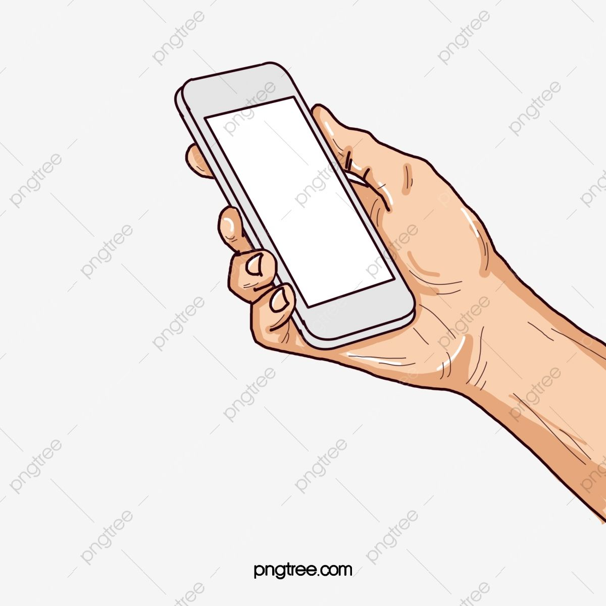 The Hand Holding A Cell Phone Cell Clipart Phone Clipart Web Page Png Transparent Clipart Image And Psd File For Free Download Clip Art Hand Holding Phone Clipart Images