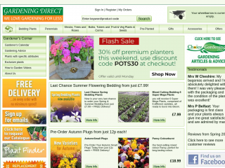 Gardening Direct Coupon & Promo Codes On August 2019