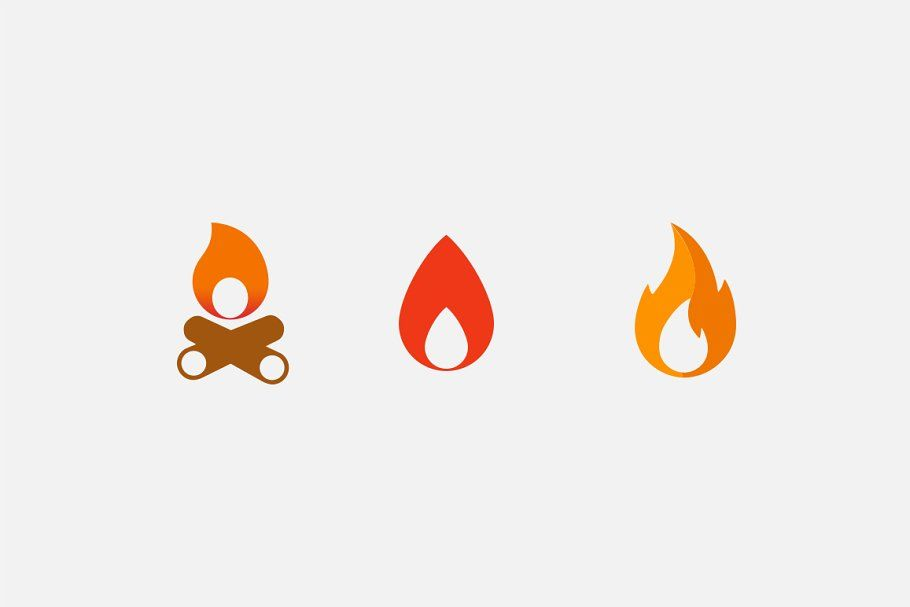 15 Fire And Flame Icons Icon Flames Resin Art