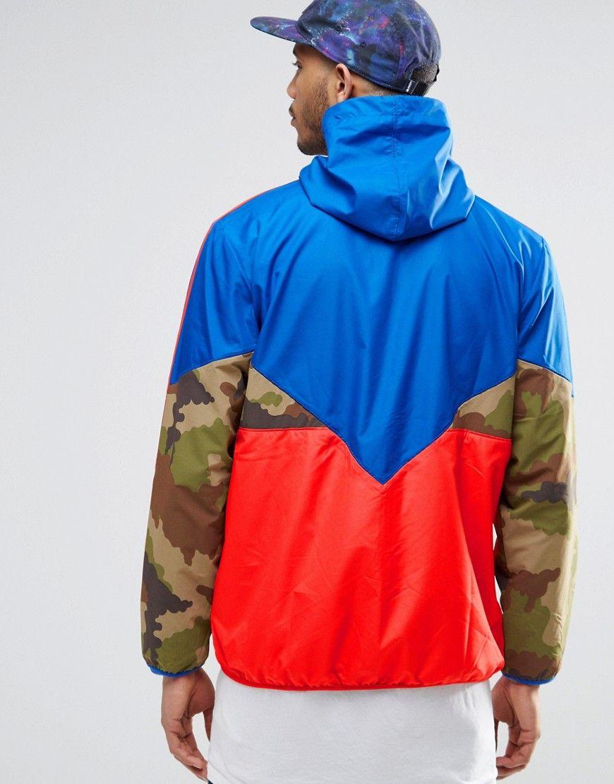 adidas Originals Camo Pack Windbreaker Jacket AY8171 at asos.com