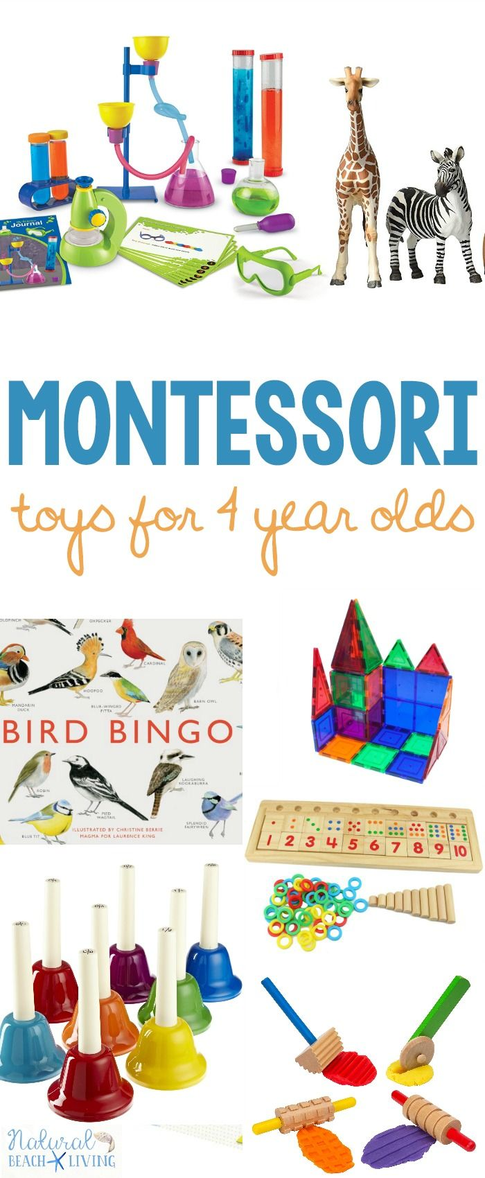 The Ultimate Guide For The Best Montessori Toys For 4 Year Olds Natural Beach Living 4 Year Old Toys Montessori Toys Toys For 1 Year Old