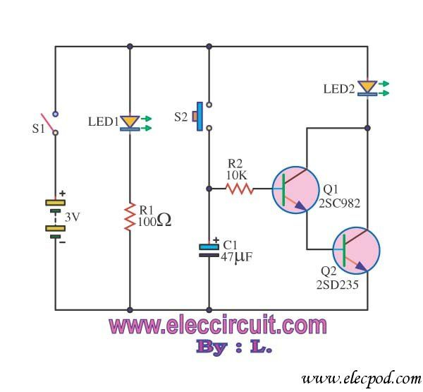 Mcjverallo blogspot likewise Transistor Based Security Alarm further Static Latching Relay Circuit Diagram Tradeofic furthermore Infrared Motion Detector Circuit likewise Microcontroller 8051. on transistor door alarm circuit a