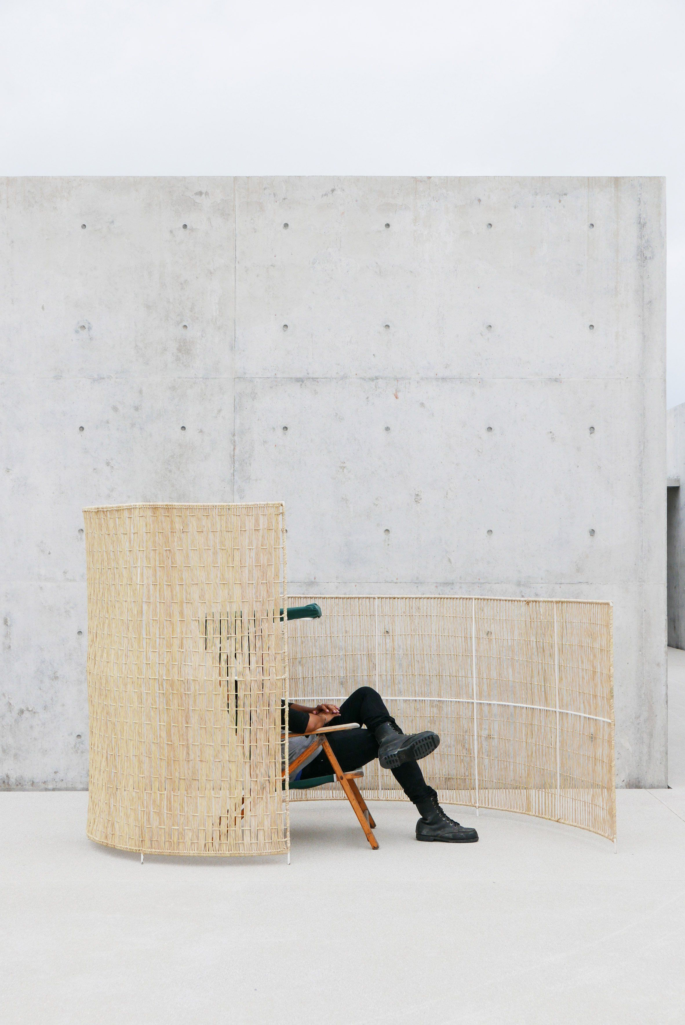 Swiss designers collaborate with mexican weavers on screens and