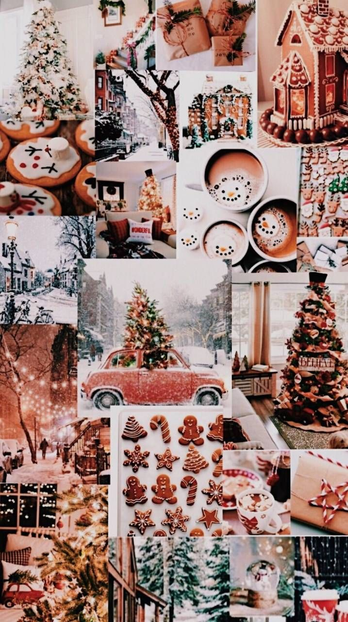 Christmas collage wallpaper by BTS_life - 2b91 - Free on ZEDGE™