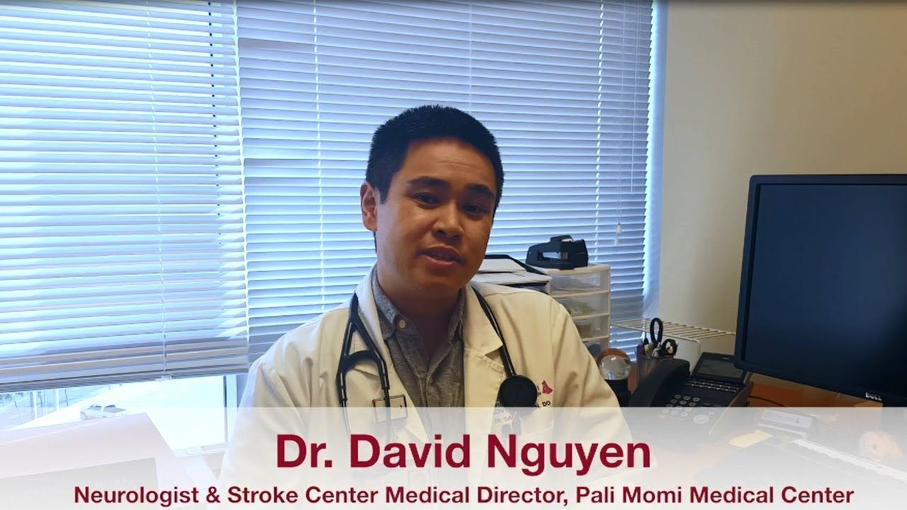 Do you know how to spot the signs of a stroke? Dr. David