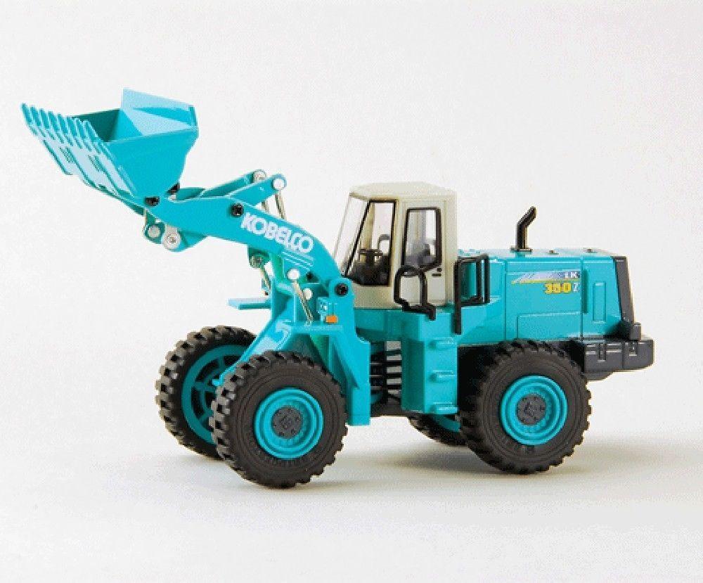 F/S Kobelco LK350Z-5 Wheel Loader Excavator 1/48 Diecast Model From