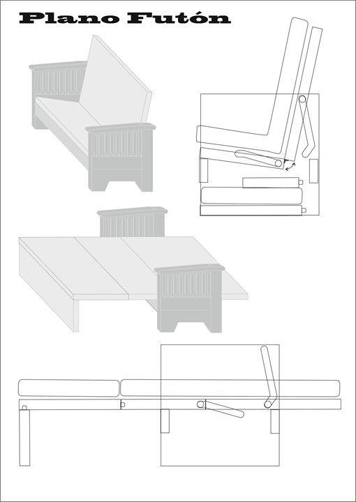 Como Hacer Un Fut 243 N Muebles E Ideas Diy Futones Cama