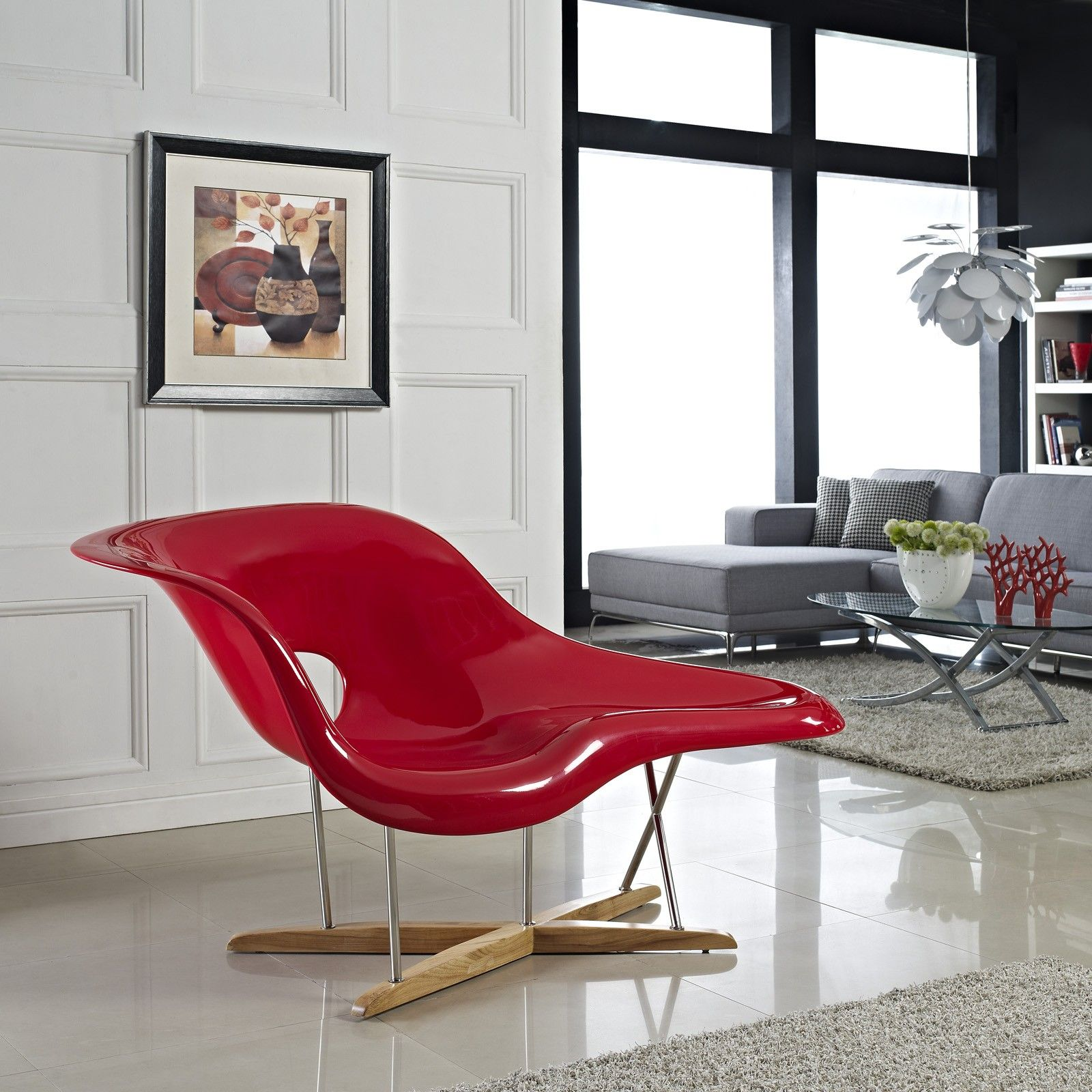La Chaise Lounge Chair La Chaise Chair By Charles Ray Eames 1948 Basle Chairs