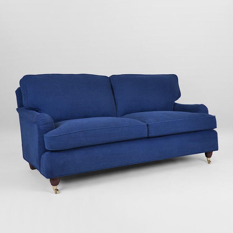 howard soffa blå
