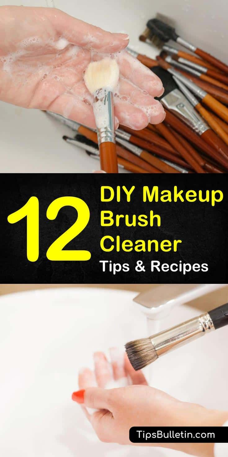 Photo of DIY Makeup Brush Cleaner Recipes: 12 Tips For Cleaning Your Makeup…