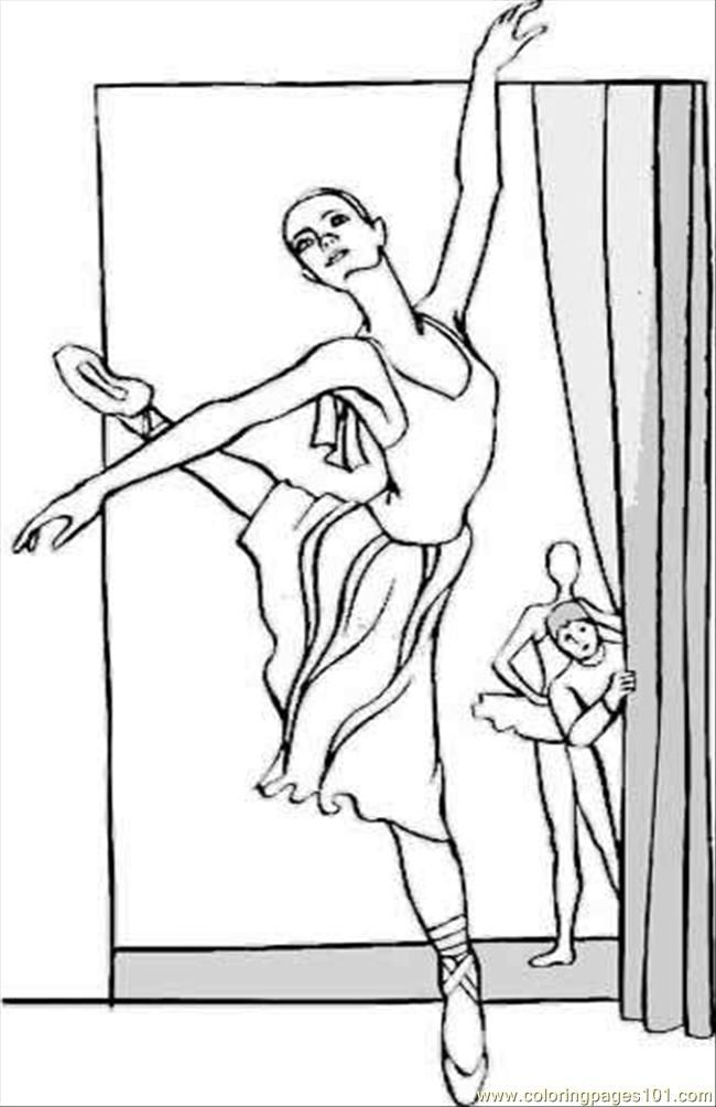 Free Printable Ballet Coloring Pages For Kids | Coloring Pages ...