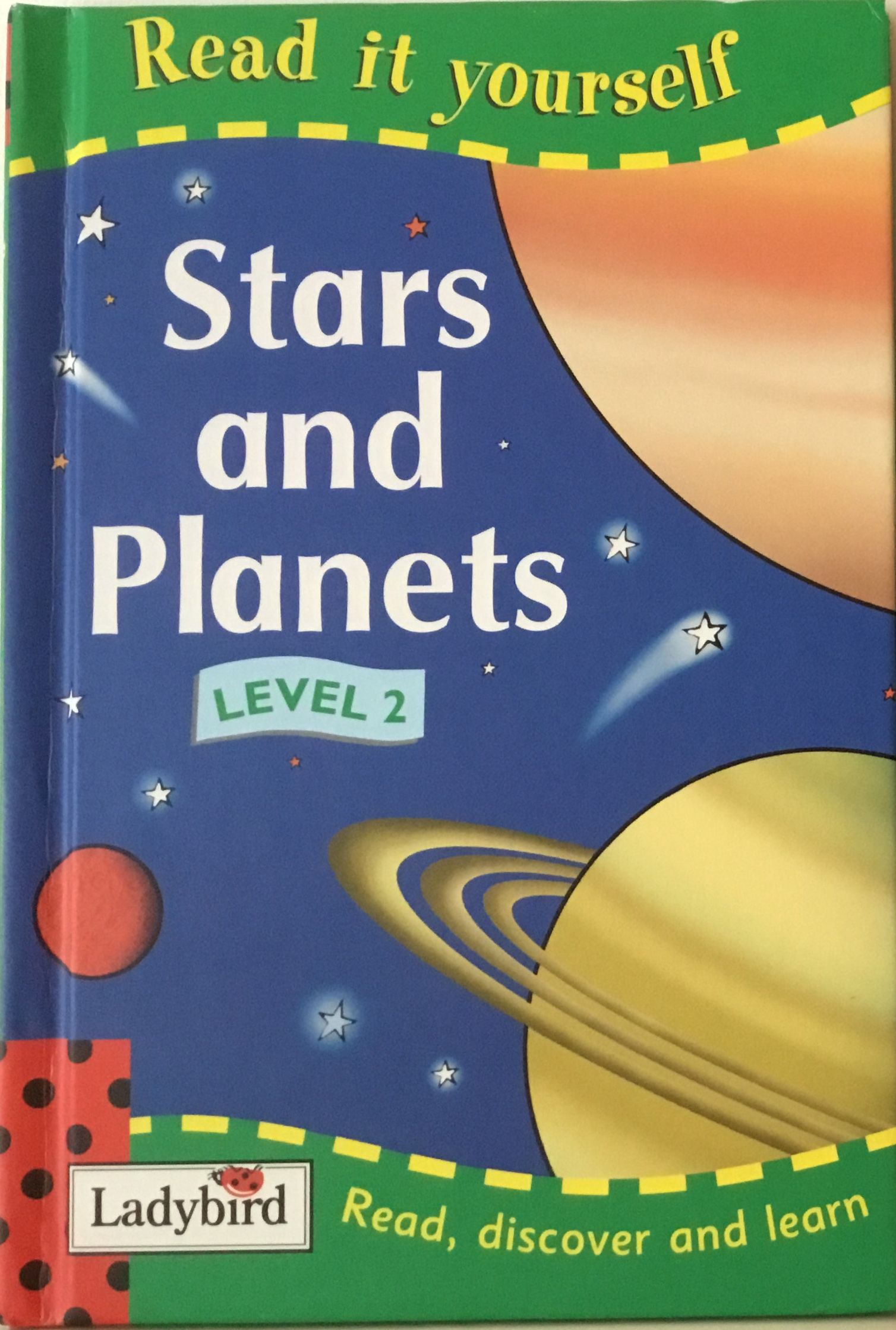 Ladybird Book Read It Yourself Series Level 2 Stars And