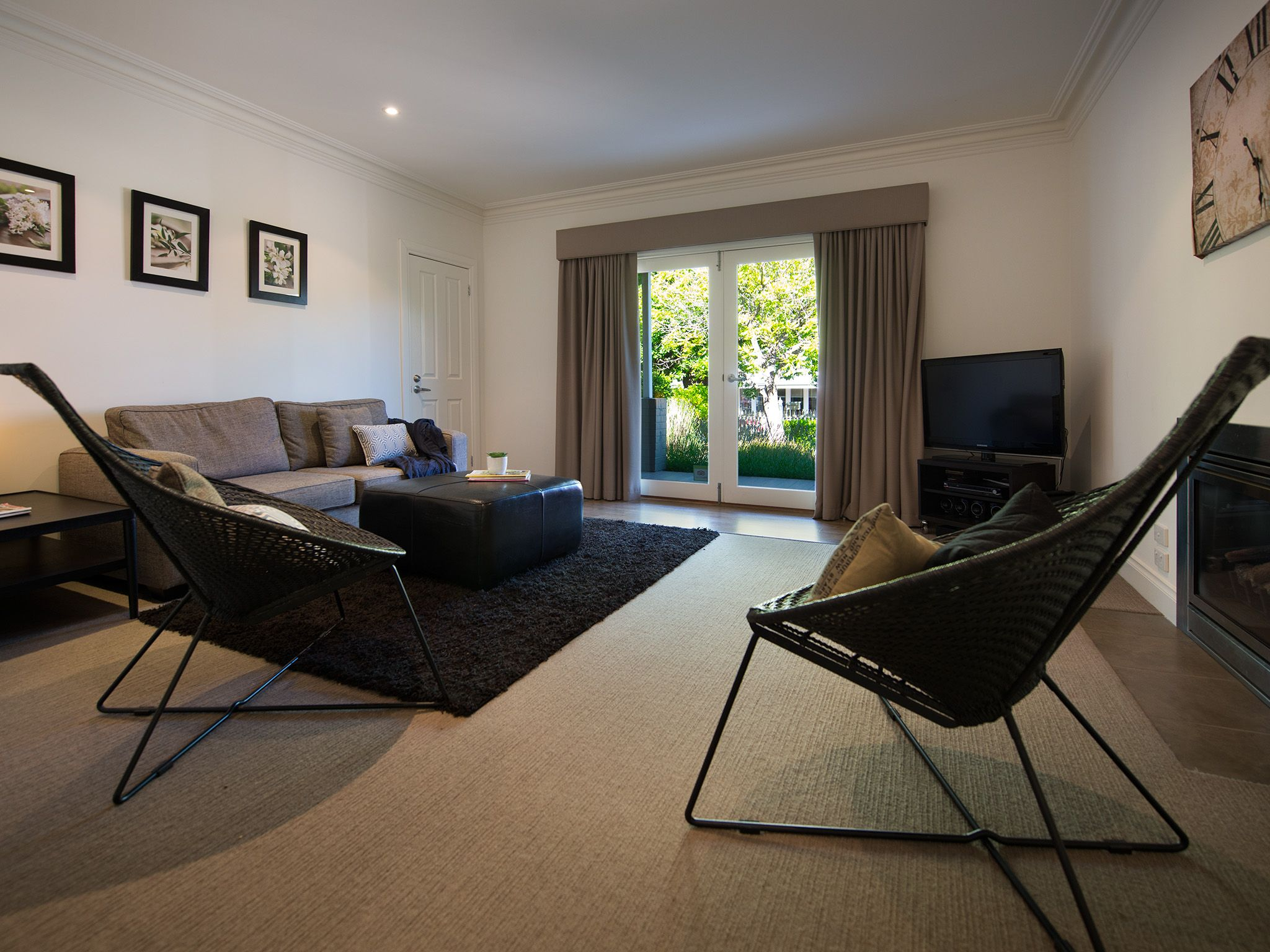Kick back in the openplan living area of your fullyair